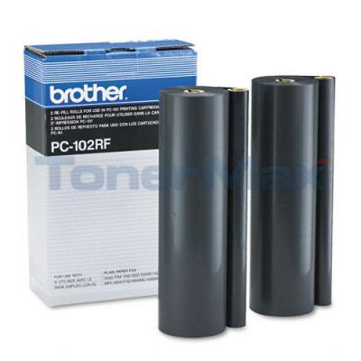 BROTHER PC-101 REFILL ROLLS BLACK
